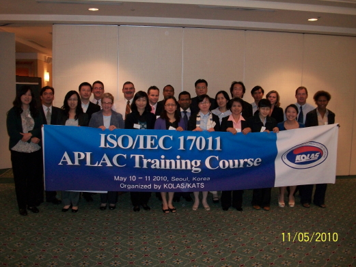 2011 APLAC Training Course